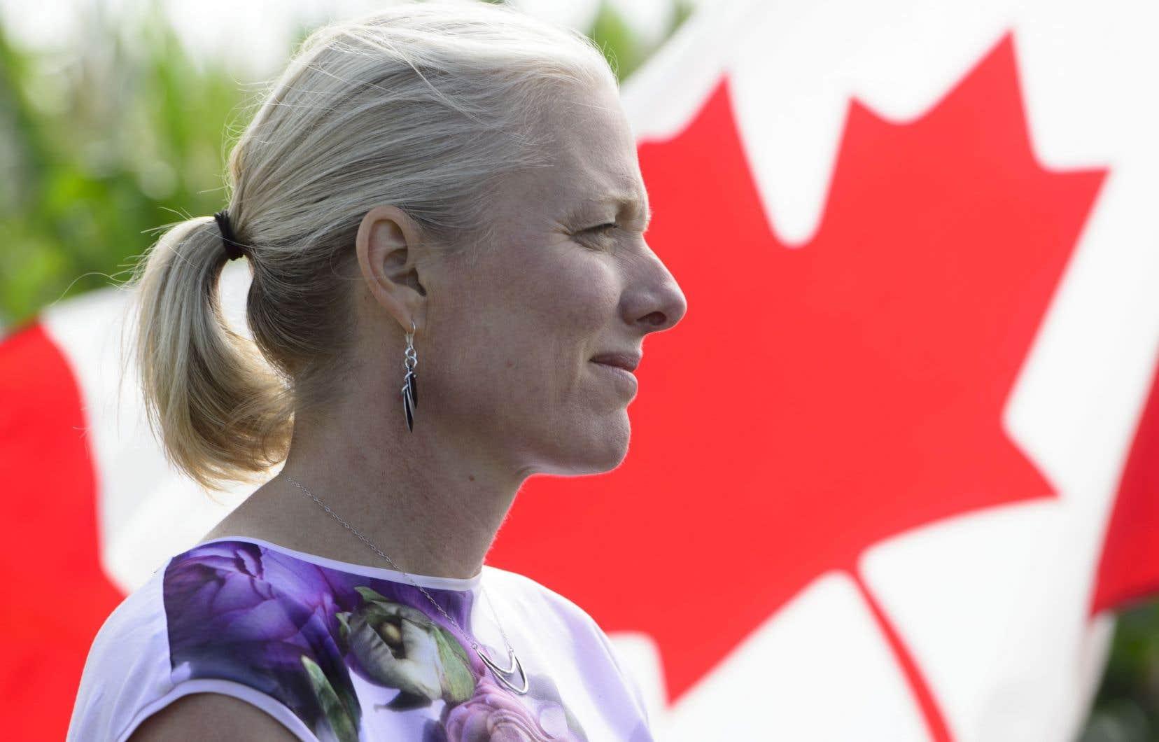 La ministre fédérale de l'Environnement, Catherine McKenna