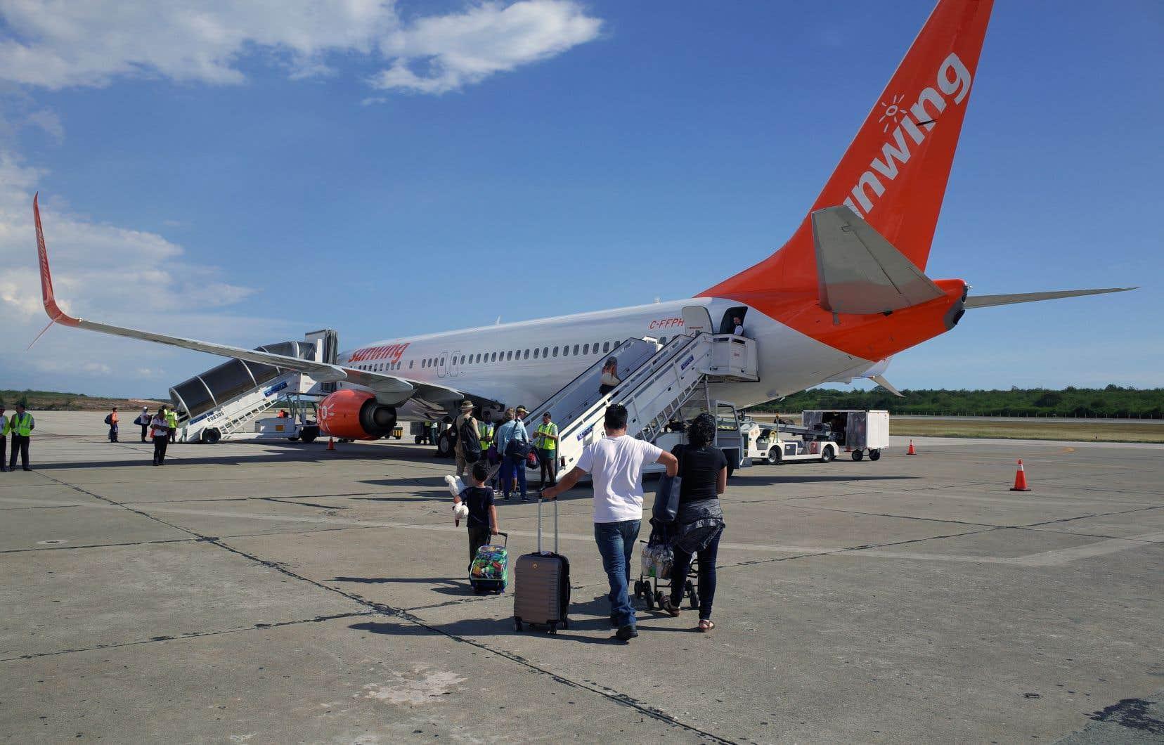La flotte de Sunwing sera entièrement composée de Boeing 737-800 (photo), l'entreprise ayant retiré de l'horaire hivernal tous ses Boeing 737 MAX.