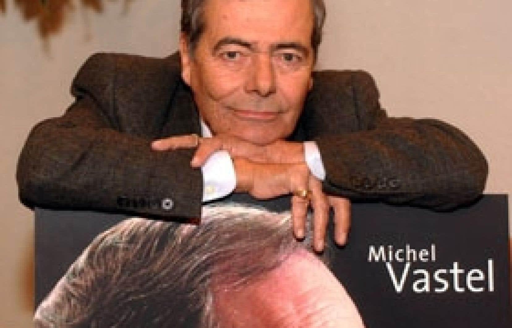 Au fil de sa carrière, Michel Vastel a été de toutes les tribunes journalistiques. Sans compromis, il décortiquait avec impertinence l'actualité, forçant le débat. Courtoisie : Journal de Montréal