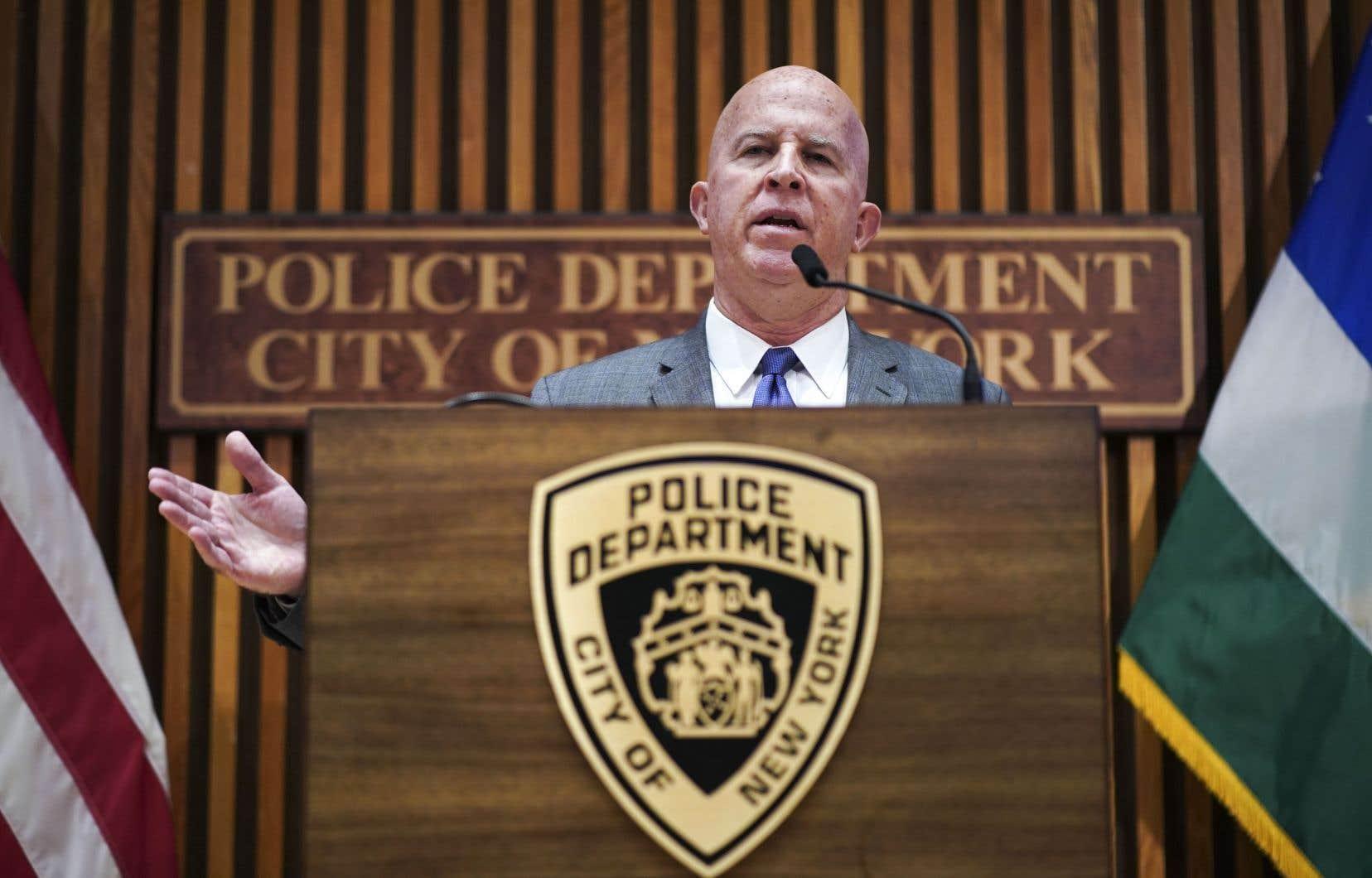 Le chef de la police new-yorkaise, James O'Neill