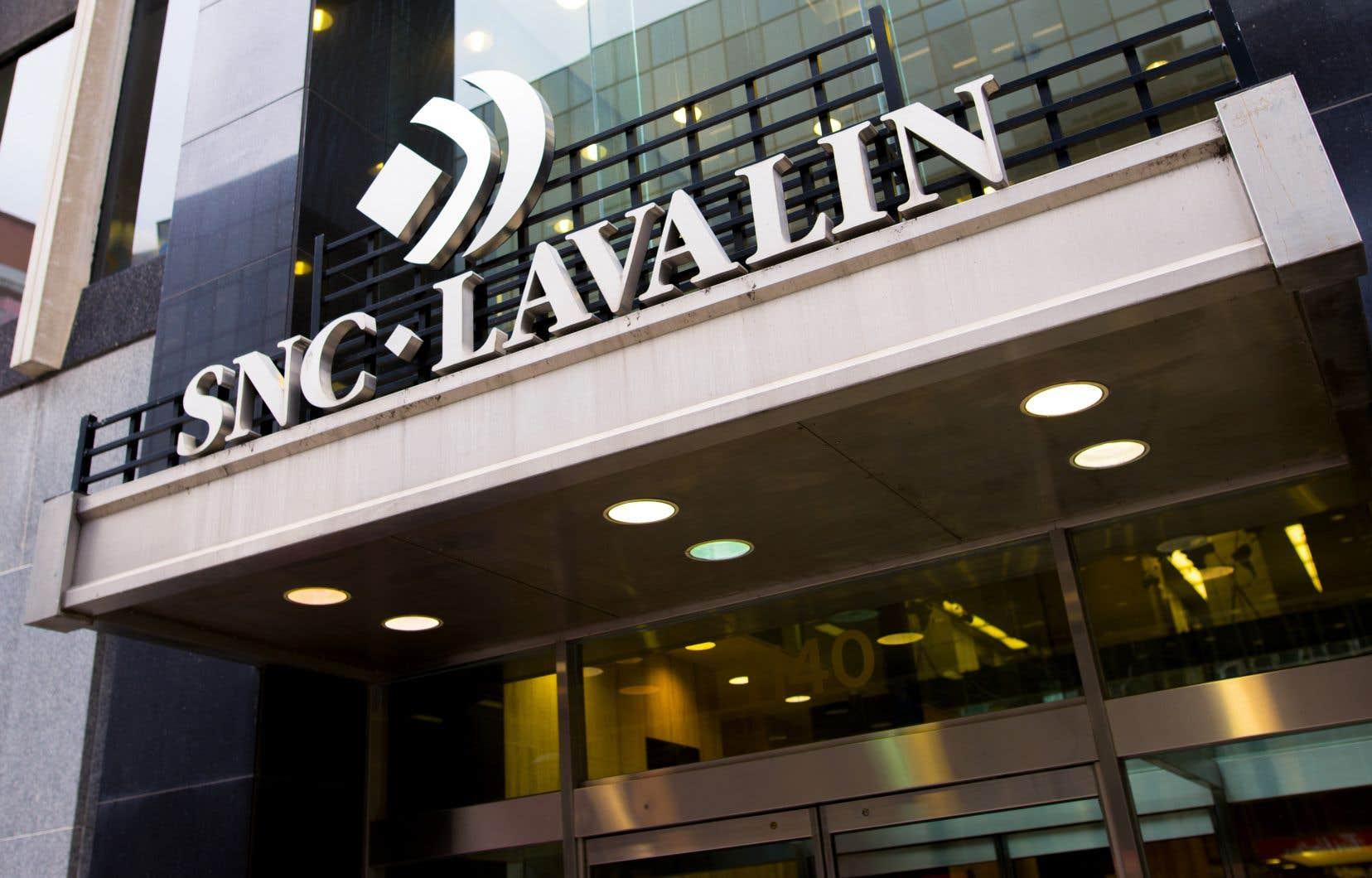 Il s'agit d'une deuxième décote en autant de mois pour SNC-Lavalin.