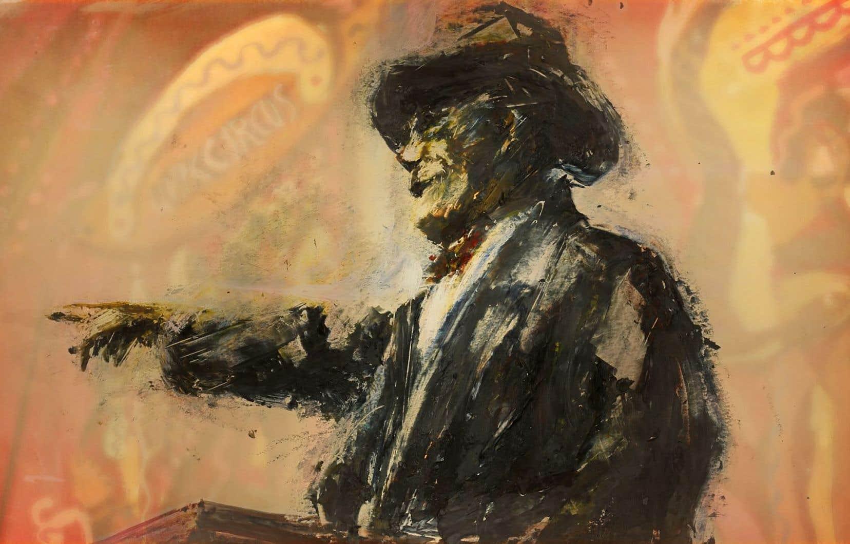 Pour <em>La physique de la tristesse</em>, 11e titre du cinéaste sous la bannière de l'ONF, Theodore Ushev a employé l'encaustique (peinture à base de cire), technique jamais utilisée en animation.