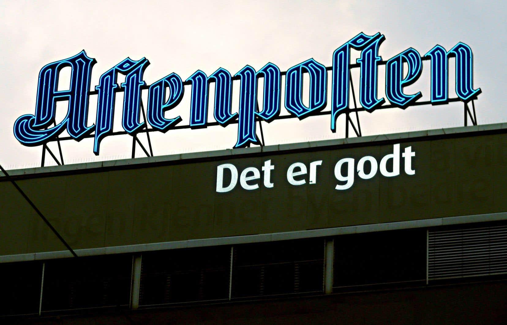 Le journal «Aftenposten» n'a jamais perdu d'argent et dégage même 13millions d'euros de résultat net, pour 145millions de chiffre d'affaires, selon son directeur.