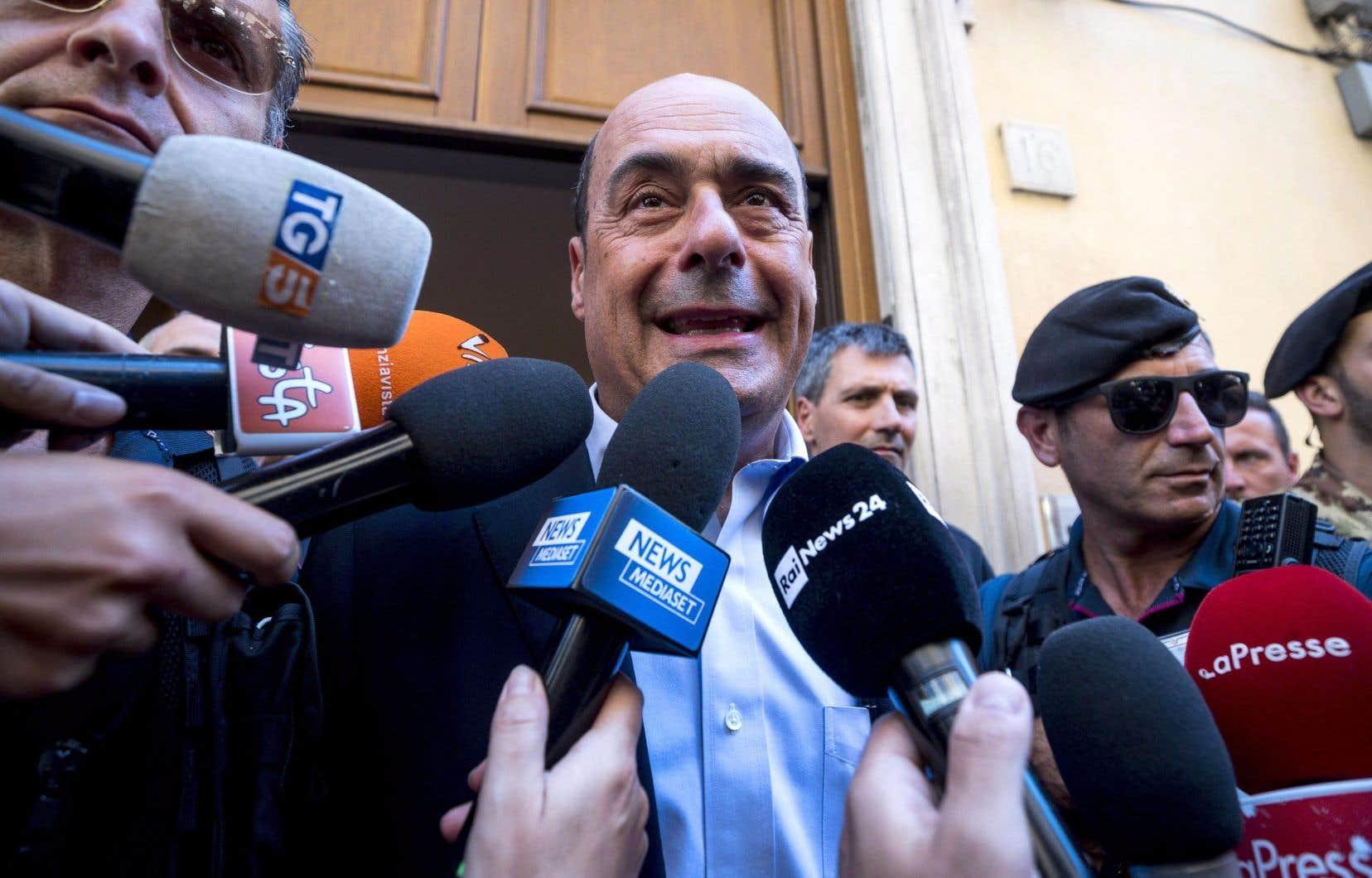 Nicola Zingaretti, chef du Parti démocrate, a proposé au Mouvement 5 Étoiles de former un gouvernement pour éviter un scrutin anticipé.