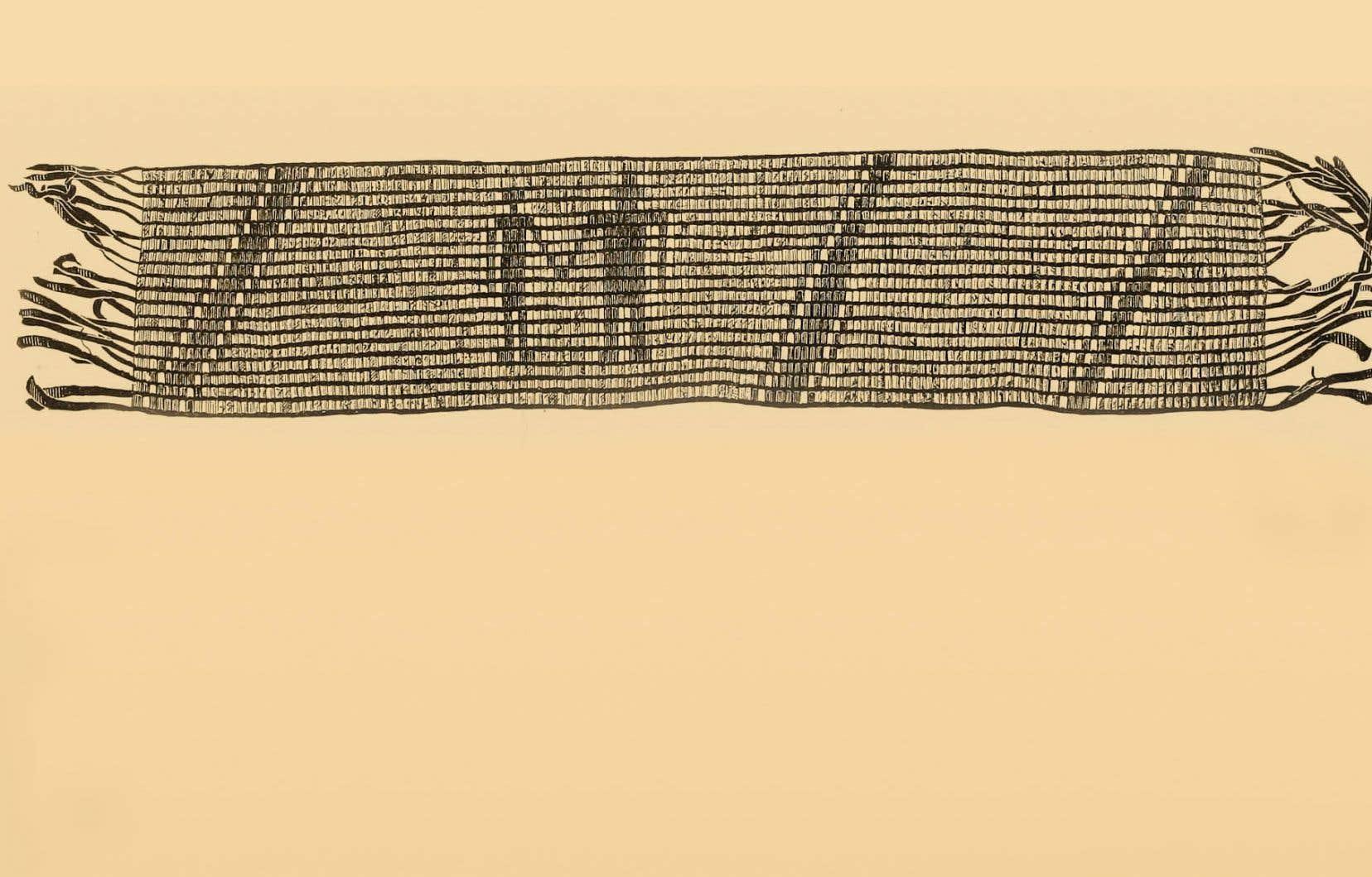 Les perles servent notamment à créer les colliers de wampum, avec lesquels on scelle les alliances.