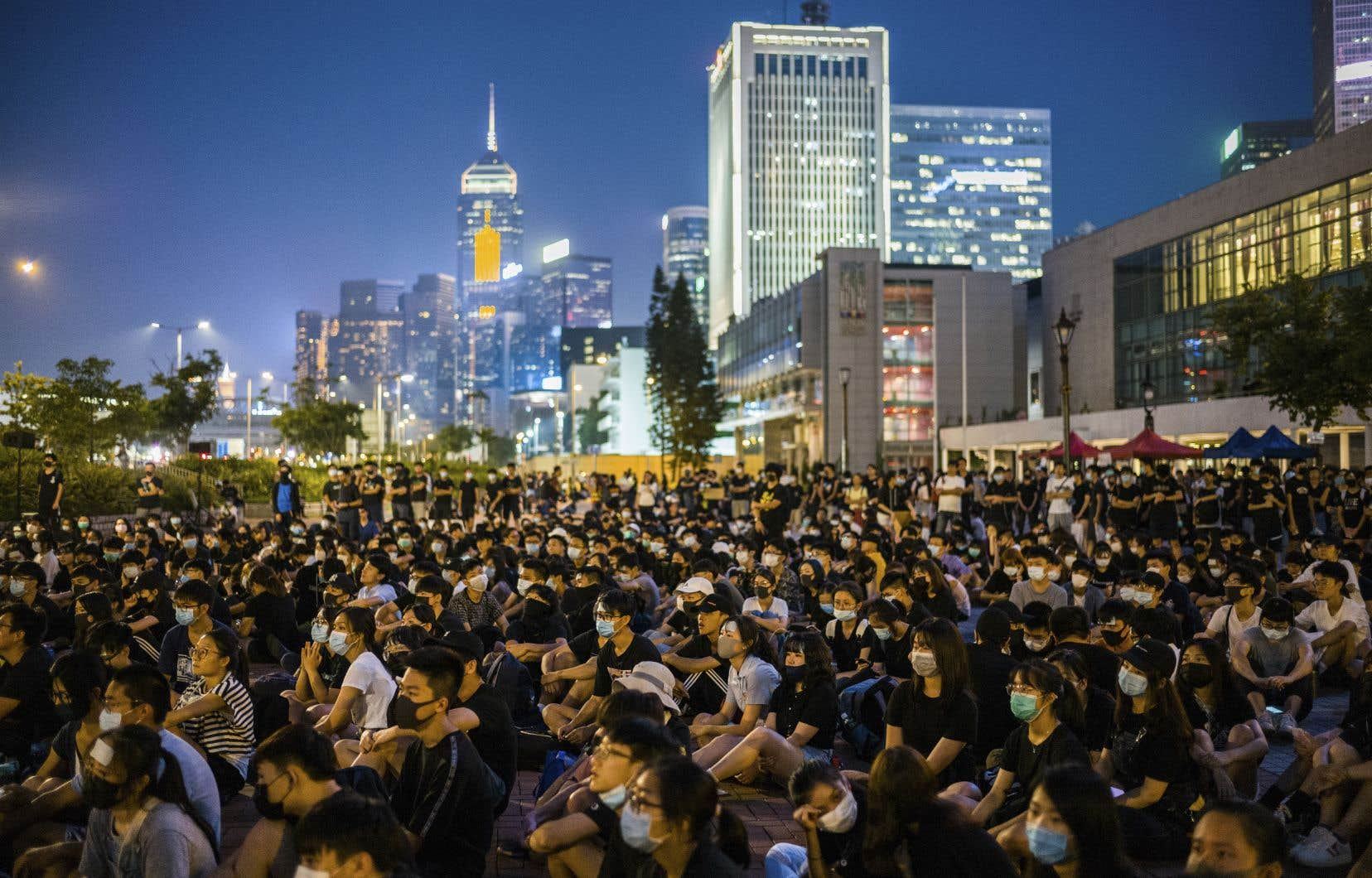 Selon la plateforme, les autorités chinoises ont publié des vidéos pour discréditer la mobilisation en faveur de réformes démocratiques à Hong Kong.