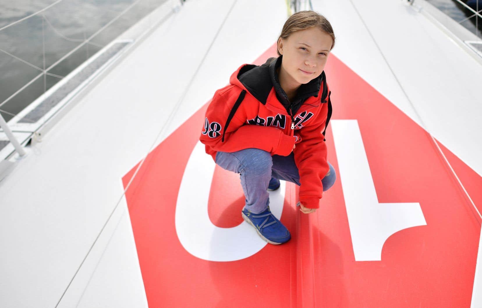 Greta Thunberg aurait manifesté son souhait de venir à Montréal en raison de la forte mobilisation des jeunes Québécois sur l'enjeu de la crise climatique mondiale.