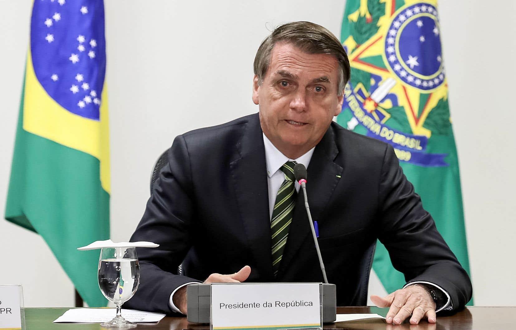 Le président brésilienJair Bolsonaro