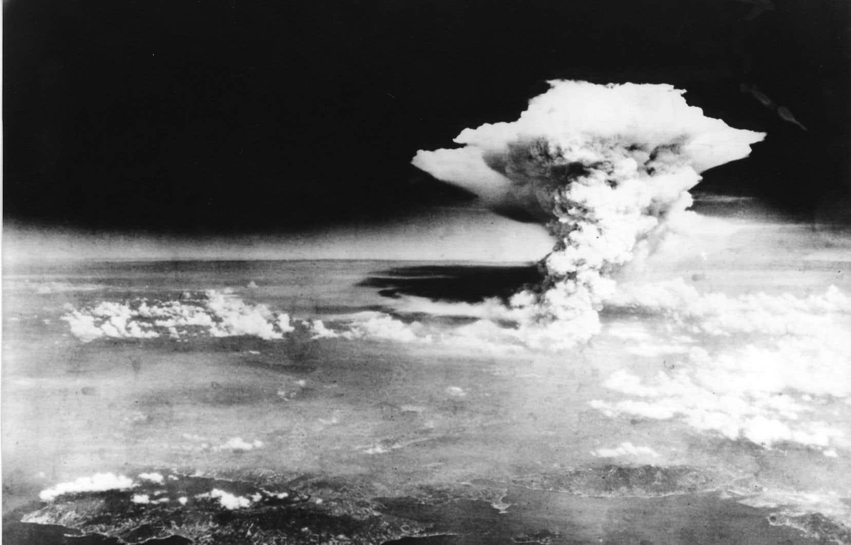 En août 1945, les Américains ont largué une bombe atomique sur les villes japonaises d'Hiroshima (notre photo) et de Nagasaki.