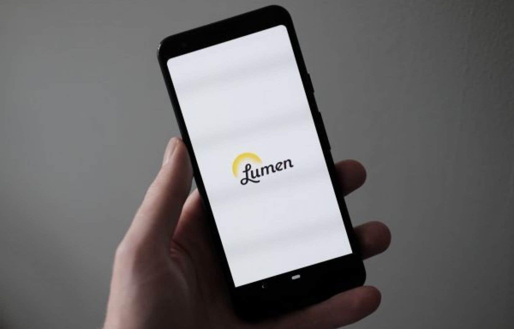 Les personnes de plus de 50ans constituent le public cible de Lumen.