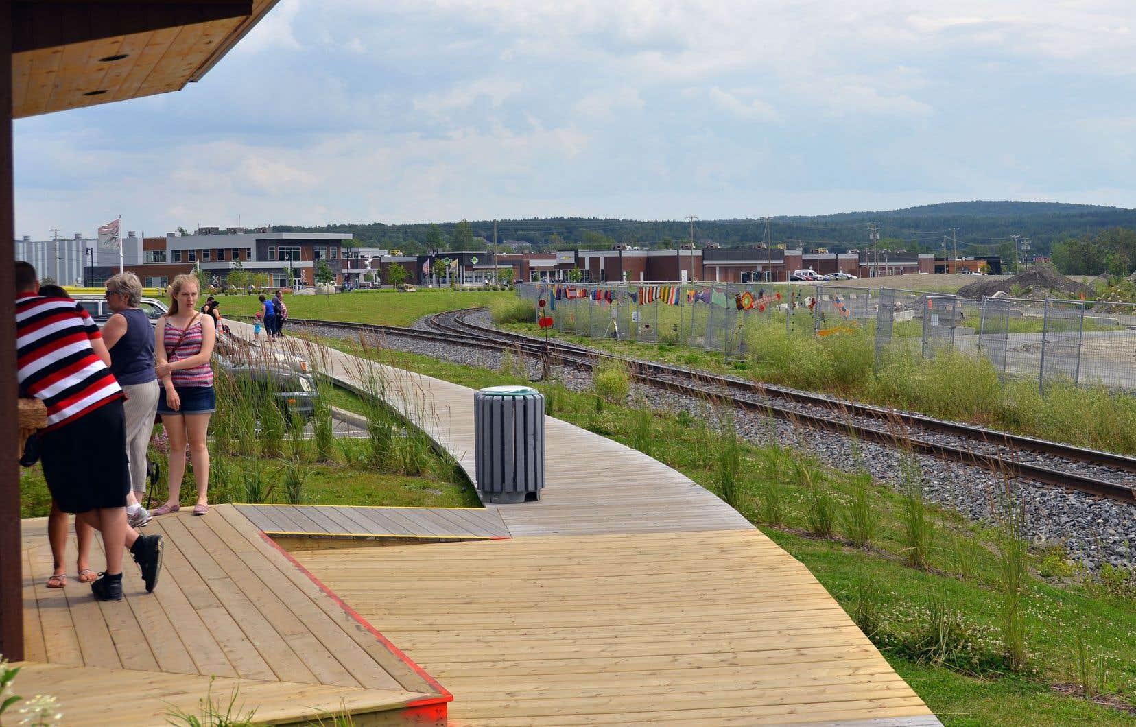 Les activités actuelles de Nantes et Frontenac seront intégrées projet global de voie de contournement ferroviaire de Lac-Mégantic.