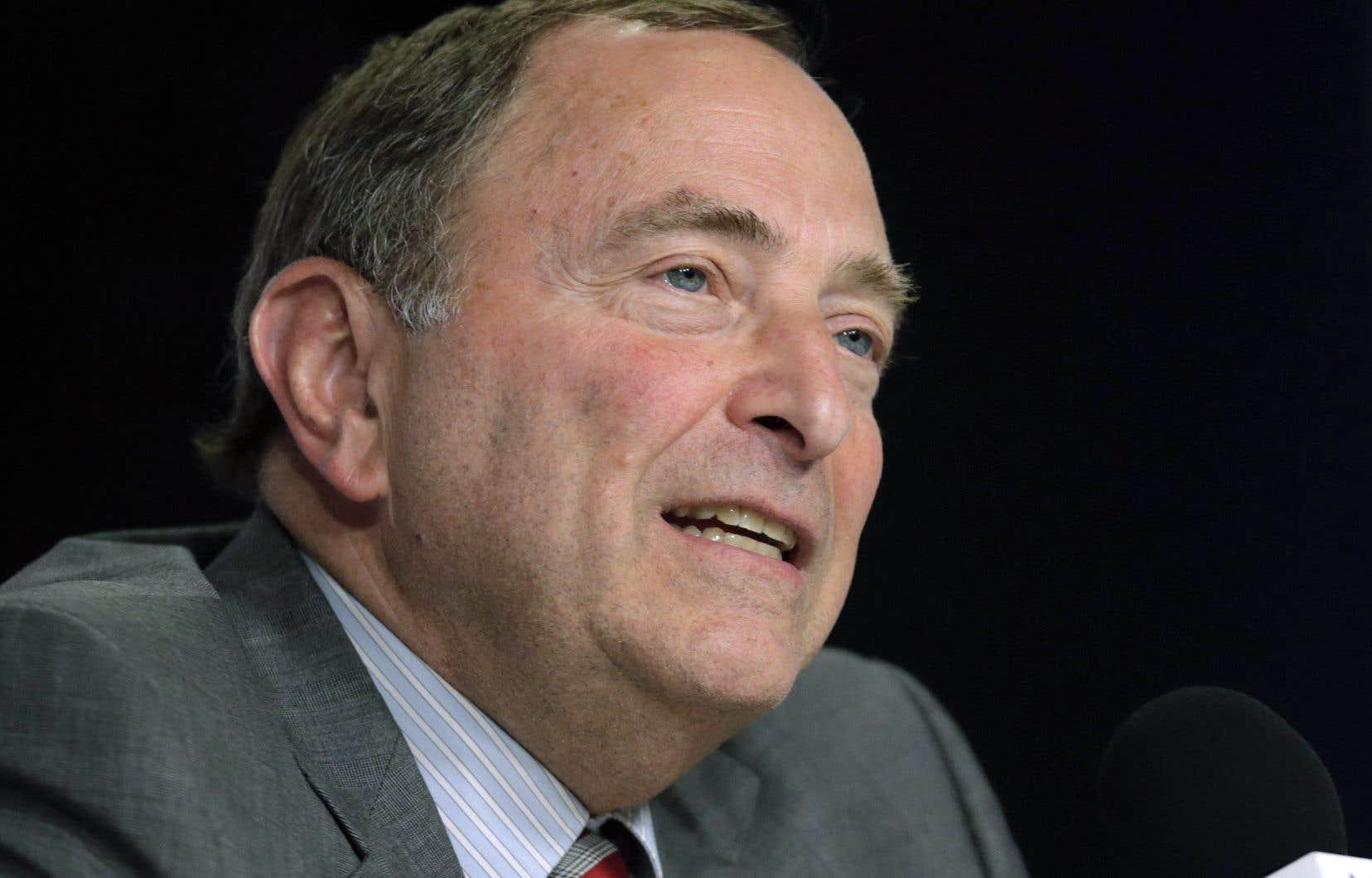 Toutefois, «dans toute convention collective, les parties peuvent toujours identifier les dossiers avec lesquels elles ne sont pas satisfaites et qu'elles souhaiteraient voir modifiés», a déclaré le commissaire Gary Bettman.