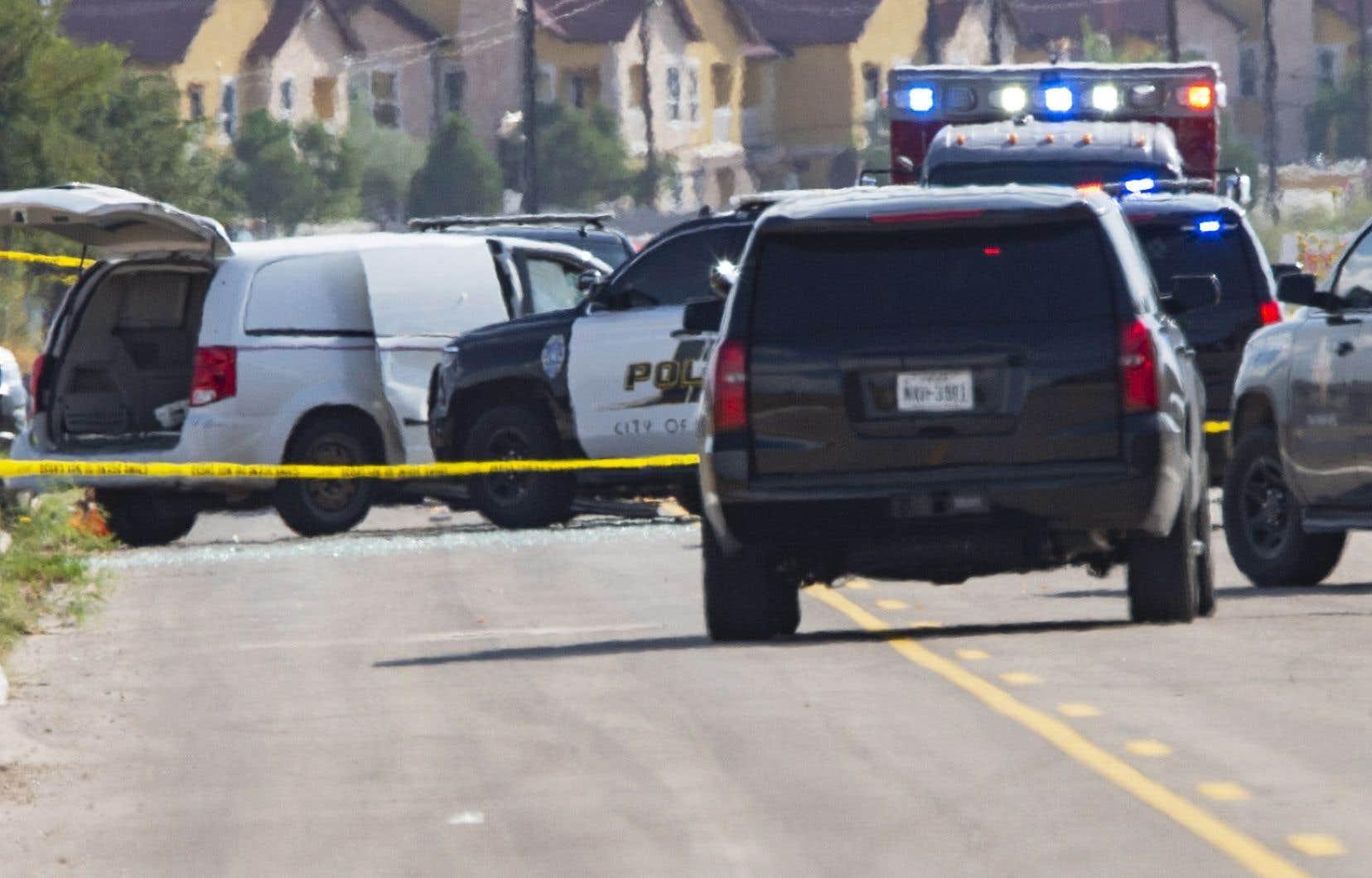 Le tireur a été abattu par la police durant un échange de coups de feu.