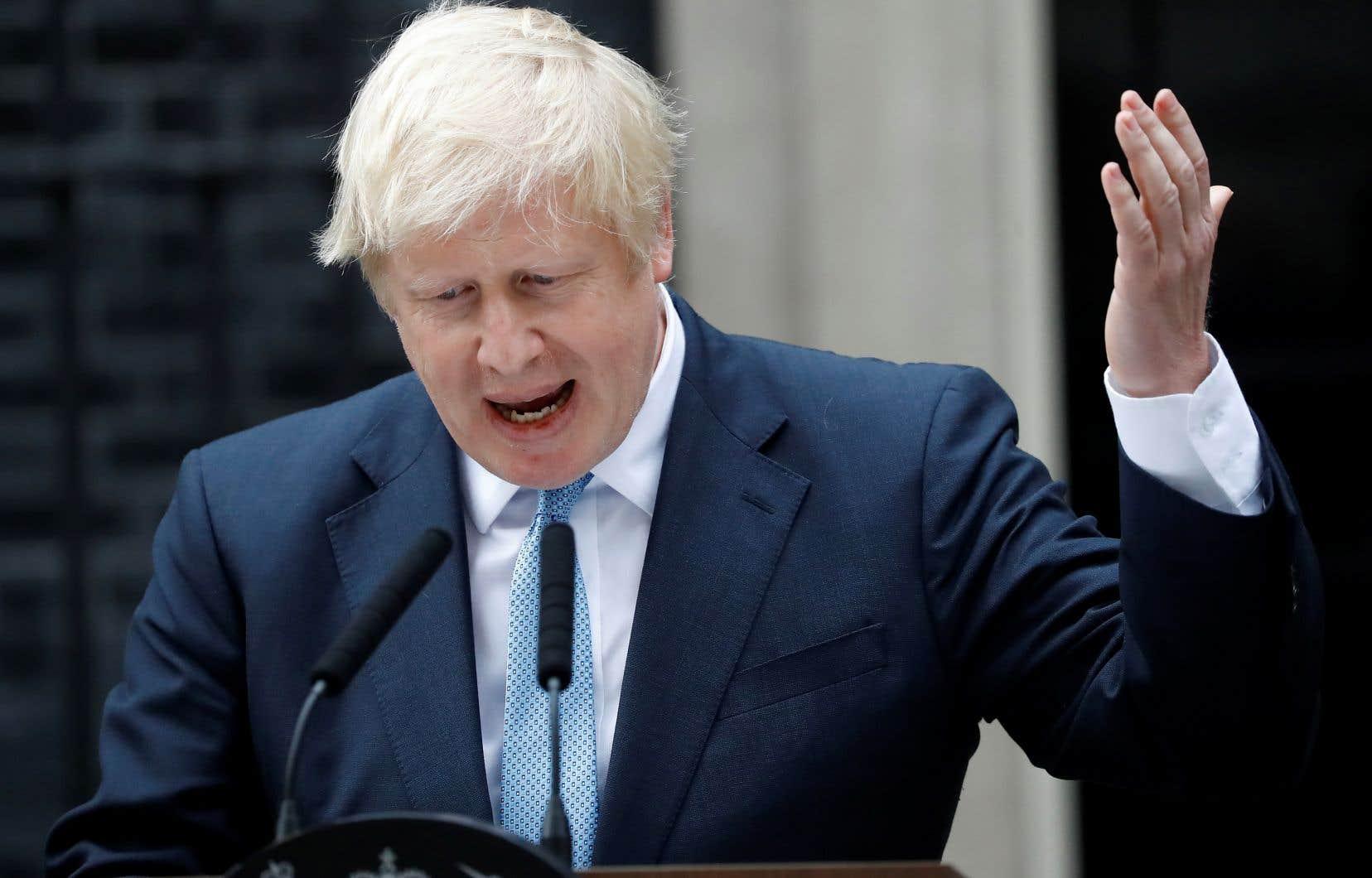 Boris Johnson avait assuré «ne pas vouloir d'une élection» lors d'une déclaration devant le 10 Downing Street, lundi.