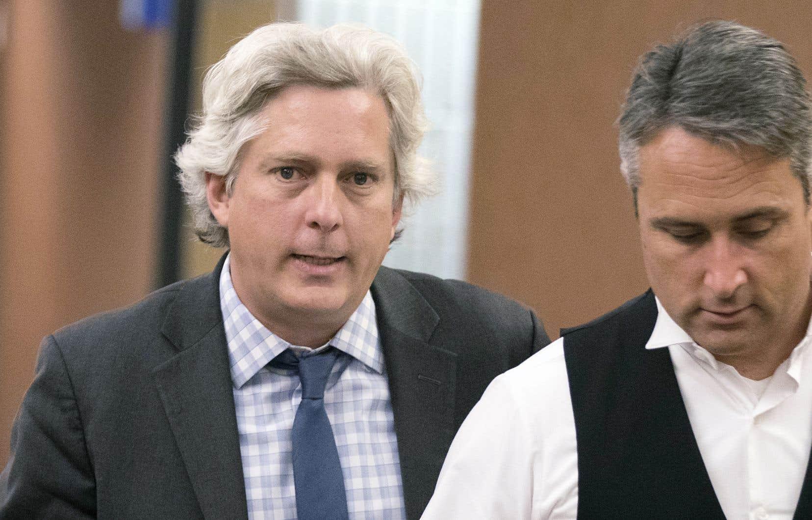 Pascal Cormier reproche à la Ville de Montréal de n'avoir pas informé ses citoyens de la contamination des terrains dans le secteur qui englobe le parc Baldwin.