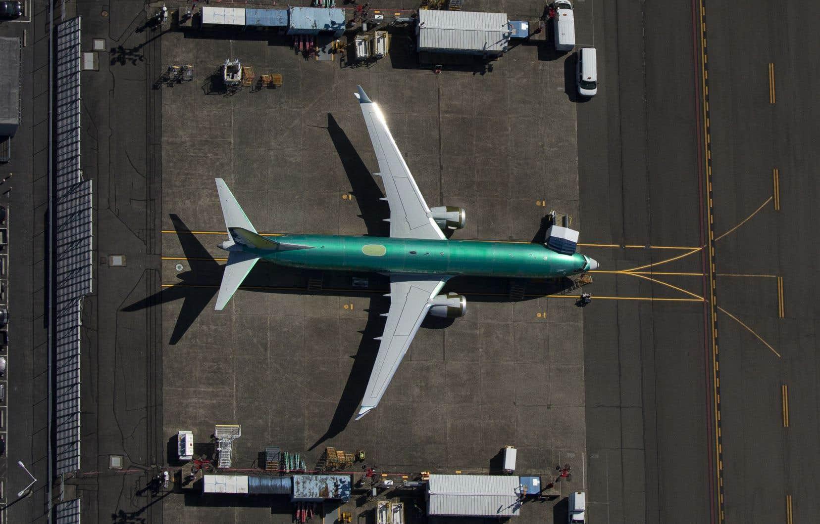 Les appareils 737 MAX sont cloués au sol depuis près de six mois.