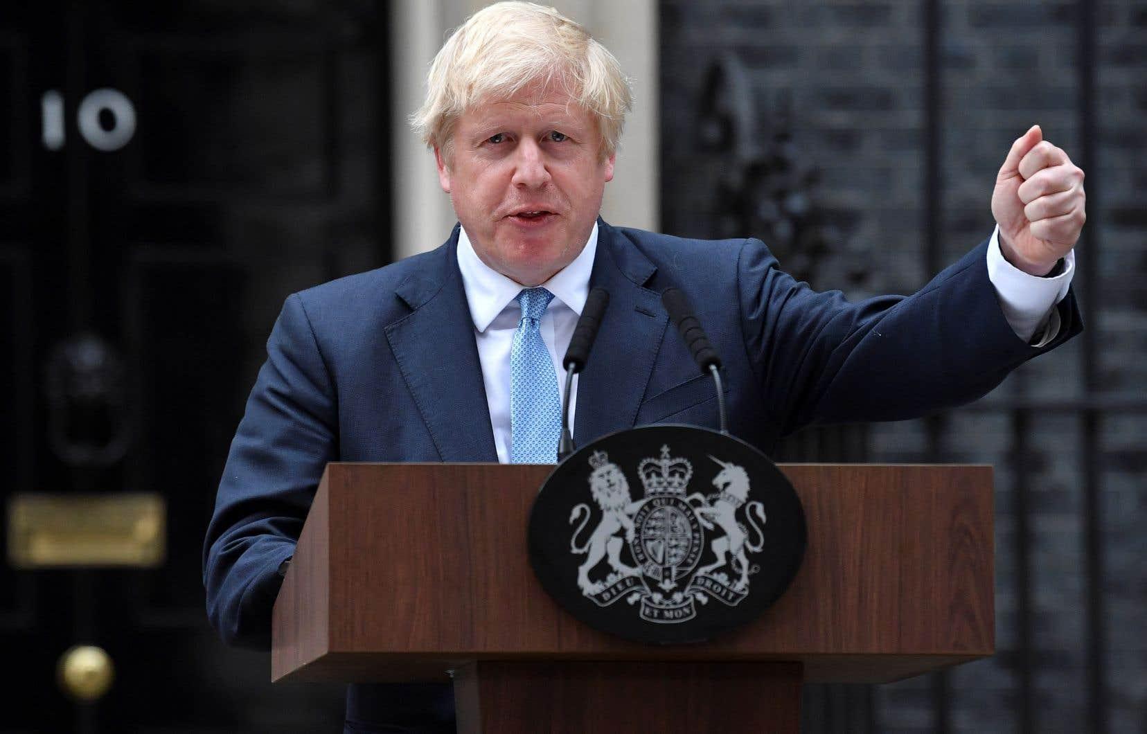 Boris Johnson a assuré jeudi qu'il préférait «être mort au fond d'un fossé» plutôt que demander un report du Brexit, pourtant voté la veille par les députés.