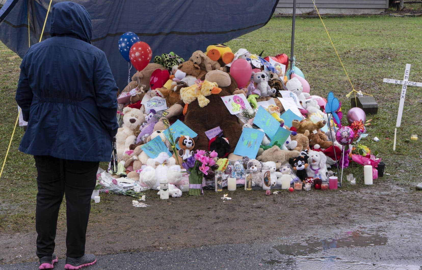 Le décès de la petite fille avait causé une onde de choc à travers le Québec au printemps dernier.