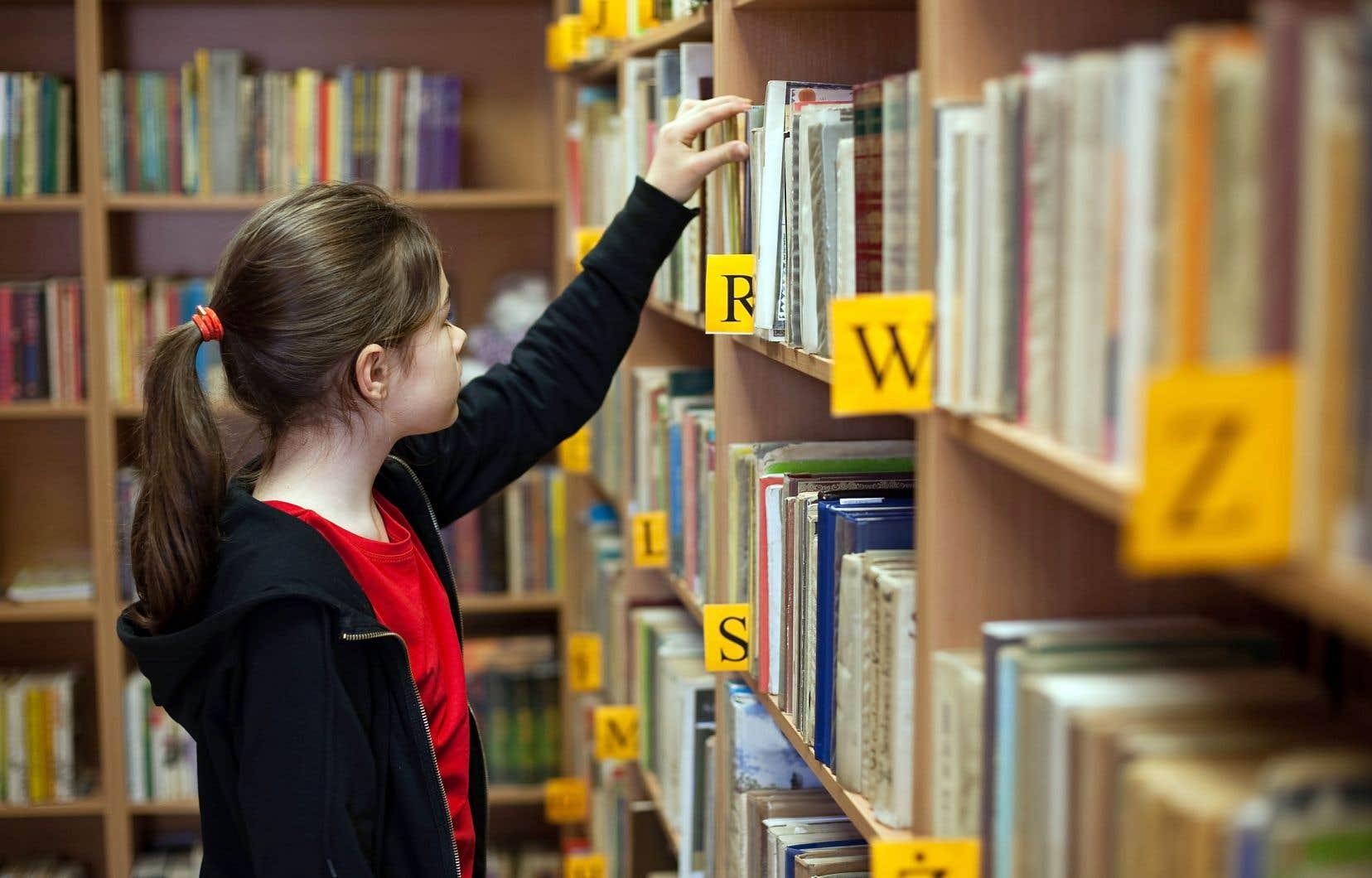Le financement total des bibliothèques scolaires s'élève maintenant à 80millions de dollars.