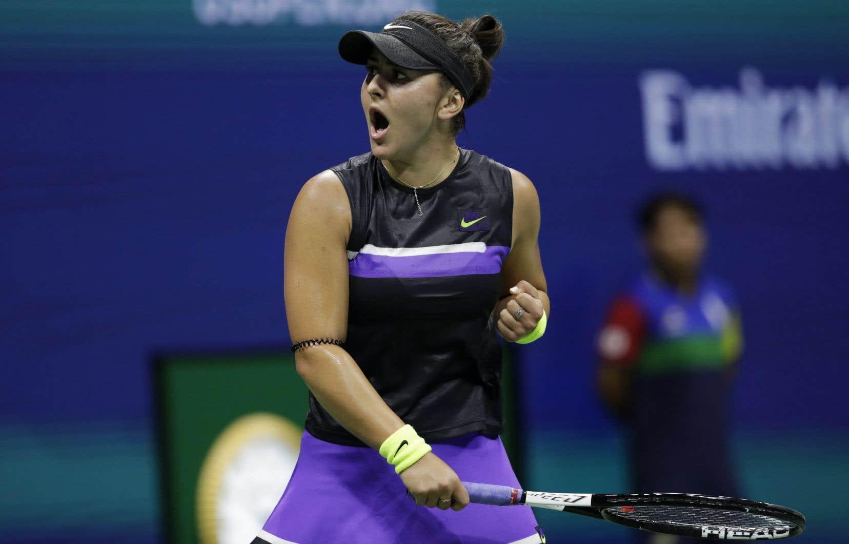 À à peine 19 ans, Bianca Andreescu accède à sa première finale de l'Us Open.