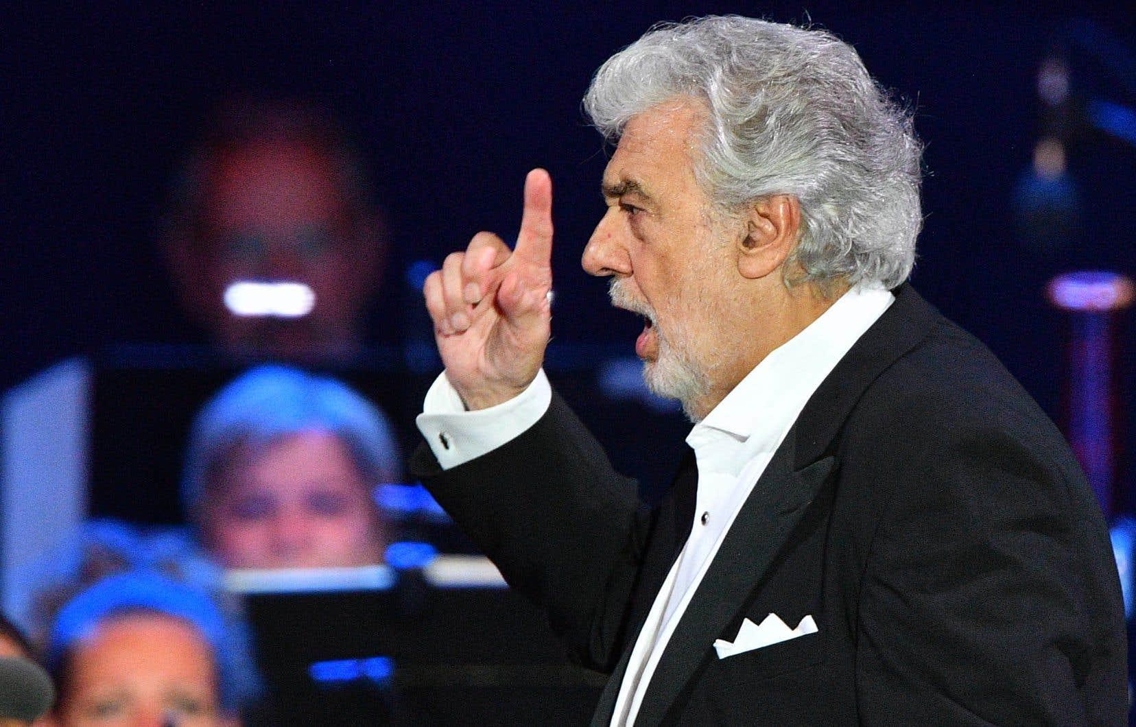 L'opéra a indiqué jeudi que l'événement a été retiré de l'horaire en raison «des développements en cours au sujet des allégations» contre Placido Domingo.