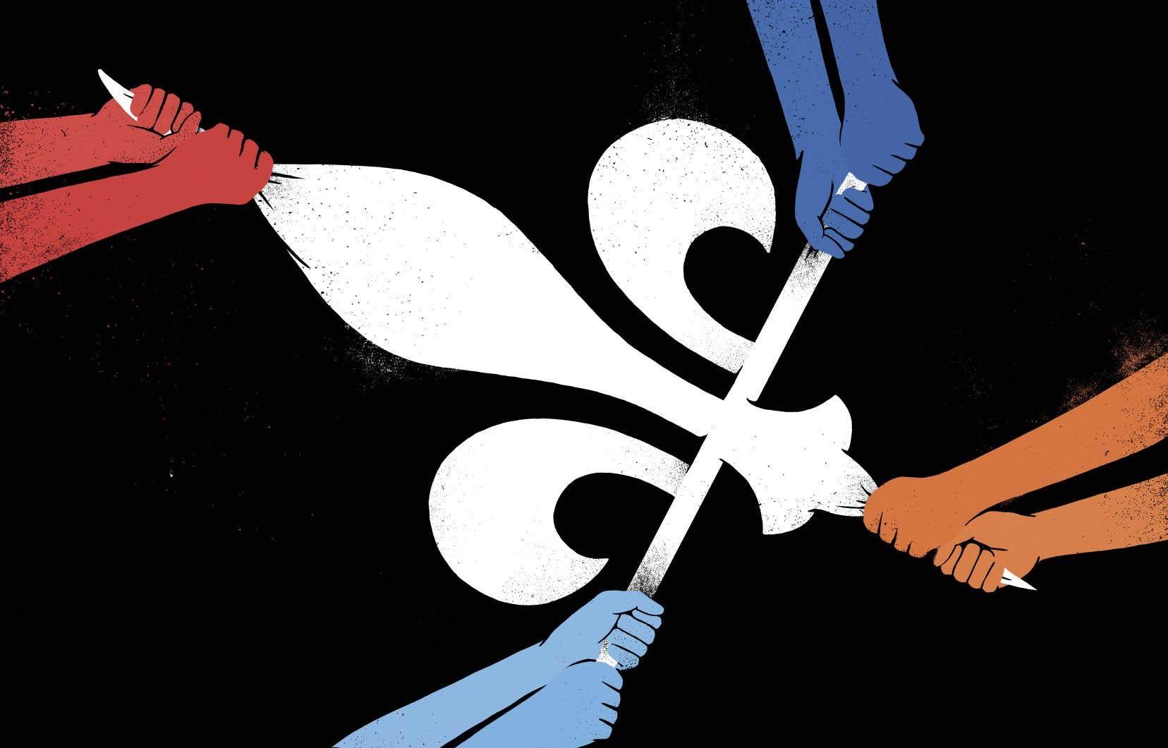 En tirant encore plus le tapis nationaliste sous ses pieds, la CAQ bouscule le Parti québécois (PQ).