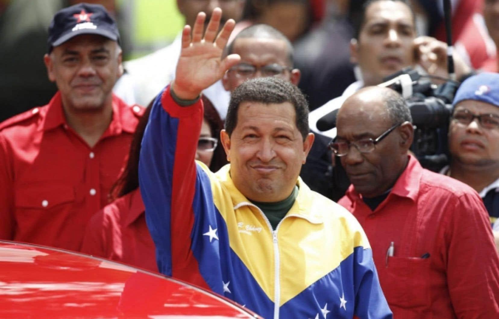 Hugo Chávez hier. Une histoire d'amour terminée?<br />
