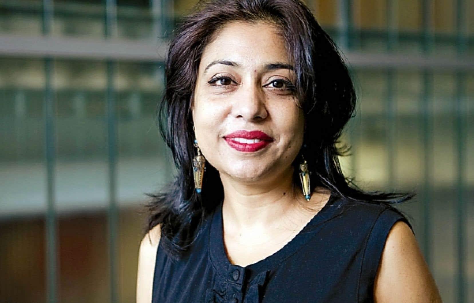 La professeure Adeela Arshad-Ayaz, théoricienne critique du postcolonialisme<br />