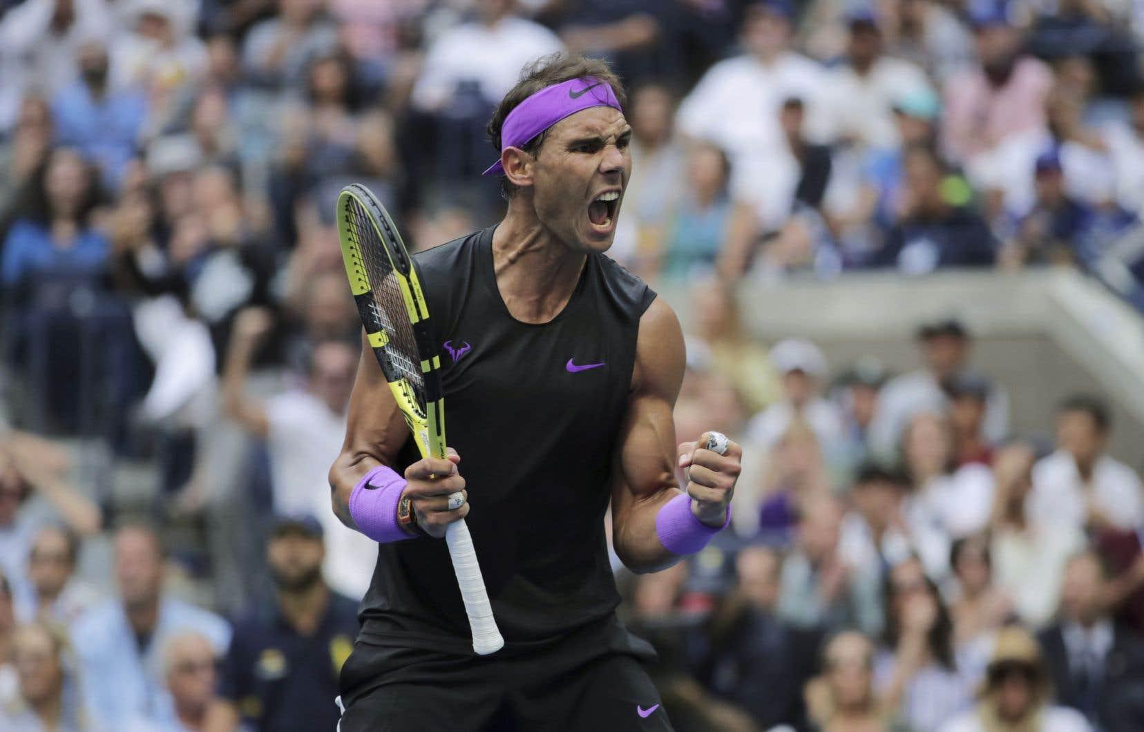Rafael Nadal détient désormais 19 titres en Grand Chelem.