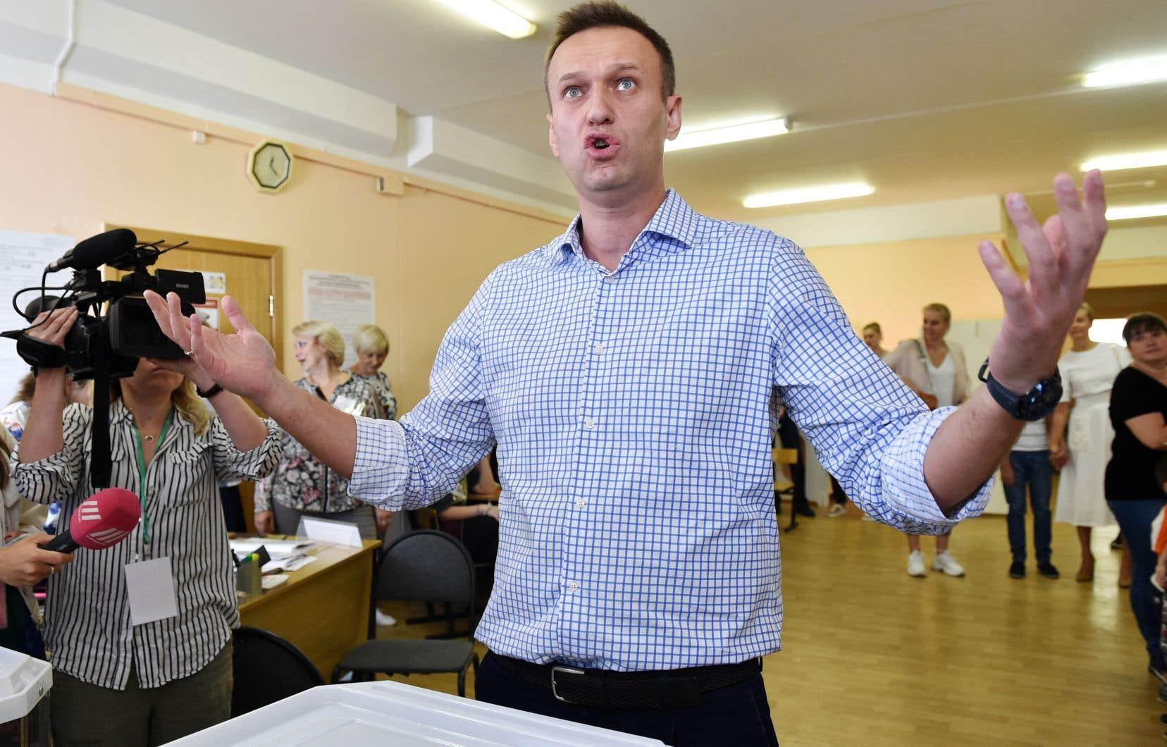 L'opposant Alexeï Navalny, dont tous les alliés ont été exclus du scrutin, avait appelé les électeurs à «voter intelligemment» en soutenant les mieux placés pour battre les candidats du Kremlin.