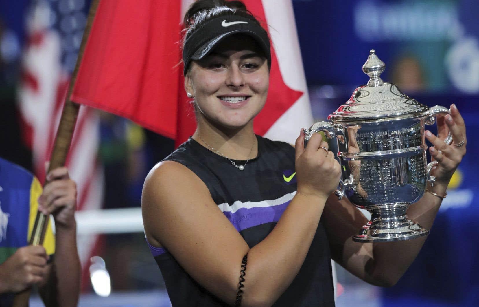 En 2019, Bianca Andreescudemeure invaincue contre les joueuses du top 10 mondial.