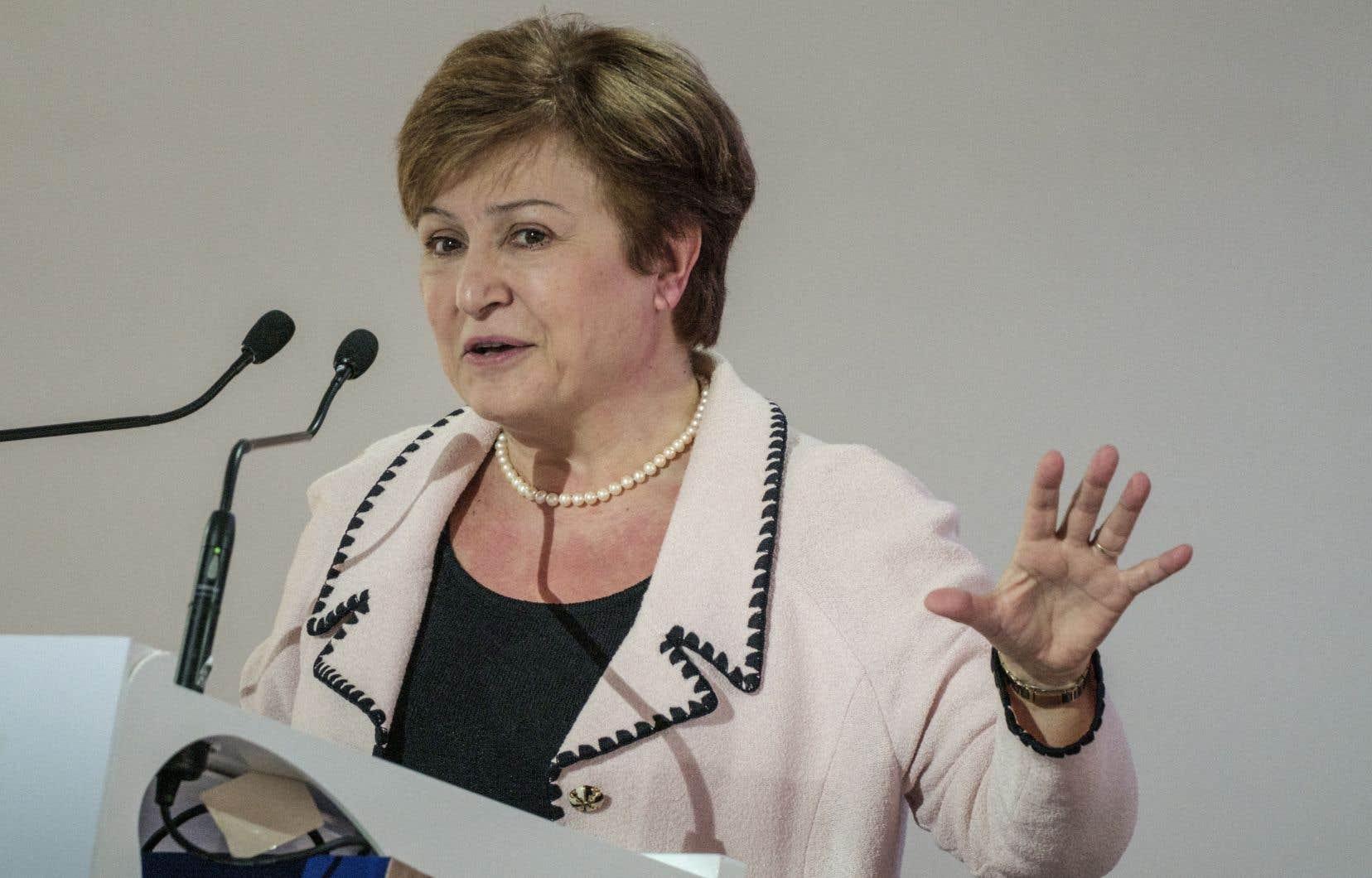 La Bulgare Kristalina Georgieva, actuelle numéro2 de la Banque mondiale