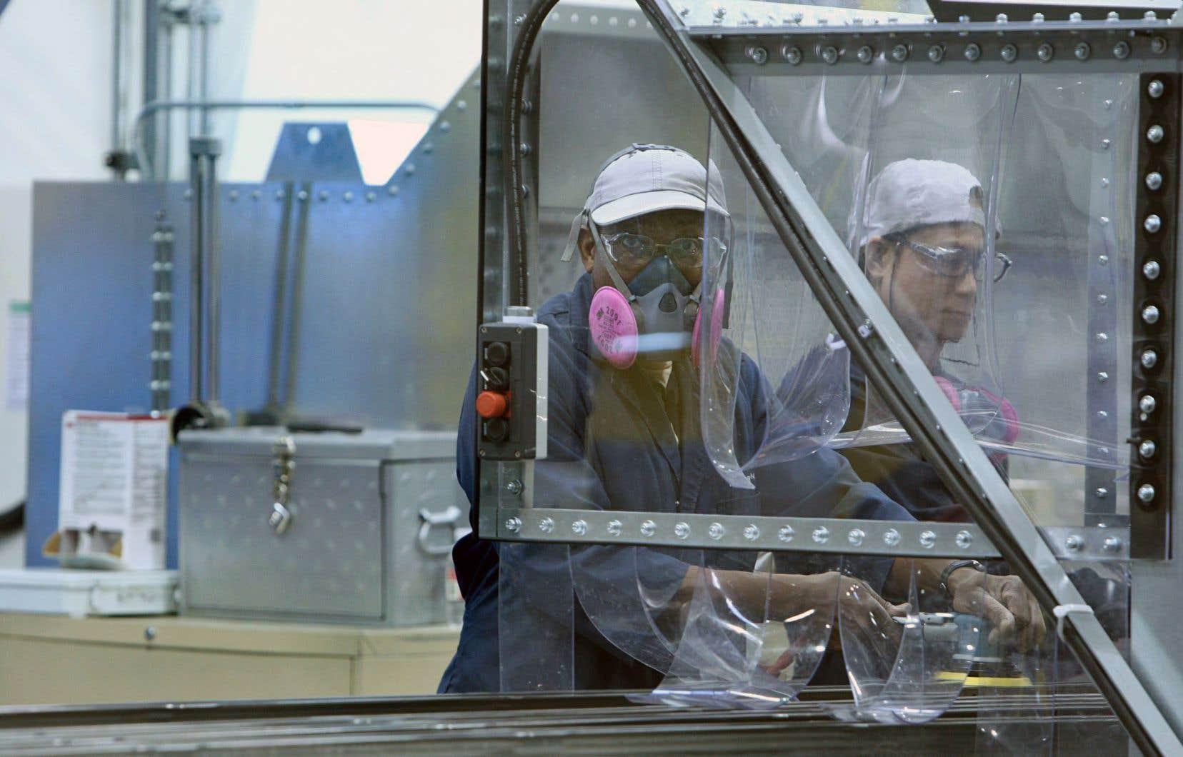 Le secteur manufacturier québécois souffre d'un manque de croissance et de productivité. Cette industrie a peu ou pas investi dans le virage 4.0.