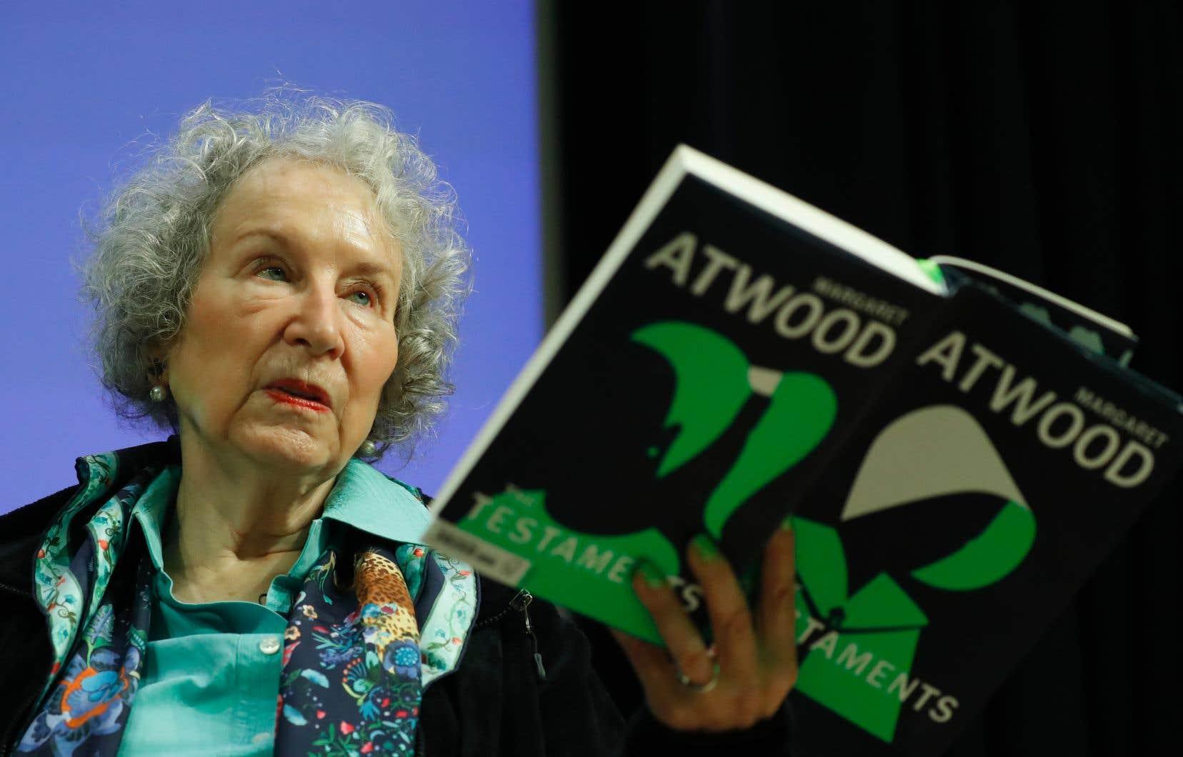 Margaret Atwood a présenté mardi à Londres la suite très attendue de <em>La servante écarlate</em>.