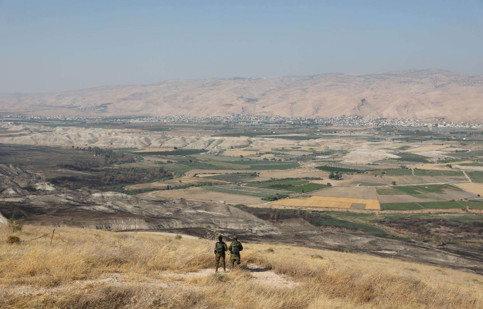 La vallée du Jourdain représente environ 30% de la Cisjordanie, territoire palestinien occupé par Israël depuis 1967.