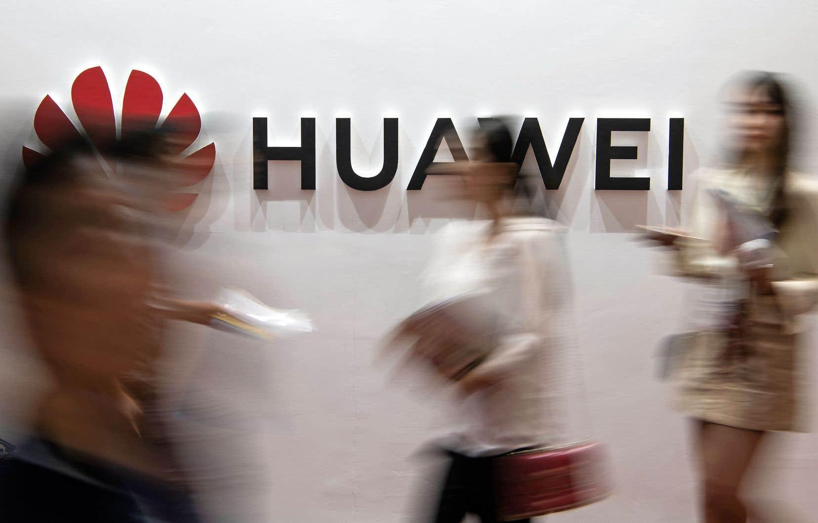 Washington a récemment décidé d'interdire aux entreprises américaines de vendre des produits technologiques au groupe chinois Huawei.