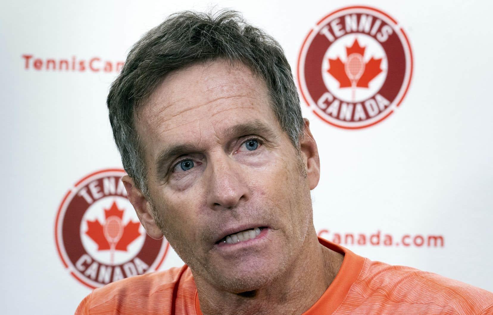 Devant les médias montréalais, mardi, l'entraîneur Sylvain Bruneau s'est dit convaincu que Bianca Andreescu pouvait encore améliorer toutes les facettes de son jeu.