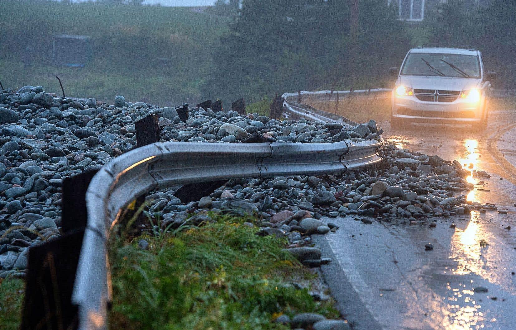 Un dollar investi dans l'adaptation aux changements climatiques rapporte de 2 à 10$ de bénéfices en matière de réduction des dommages futurs, estime la Commission mondiale sur l'adaptation. Sur la photo, des dommages causés par la tempête «Dorian» en Nouvelle-Écosse samedi.