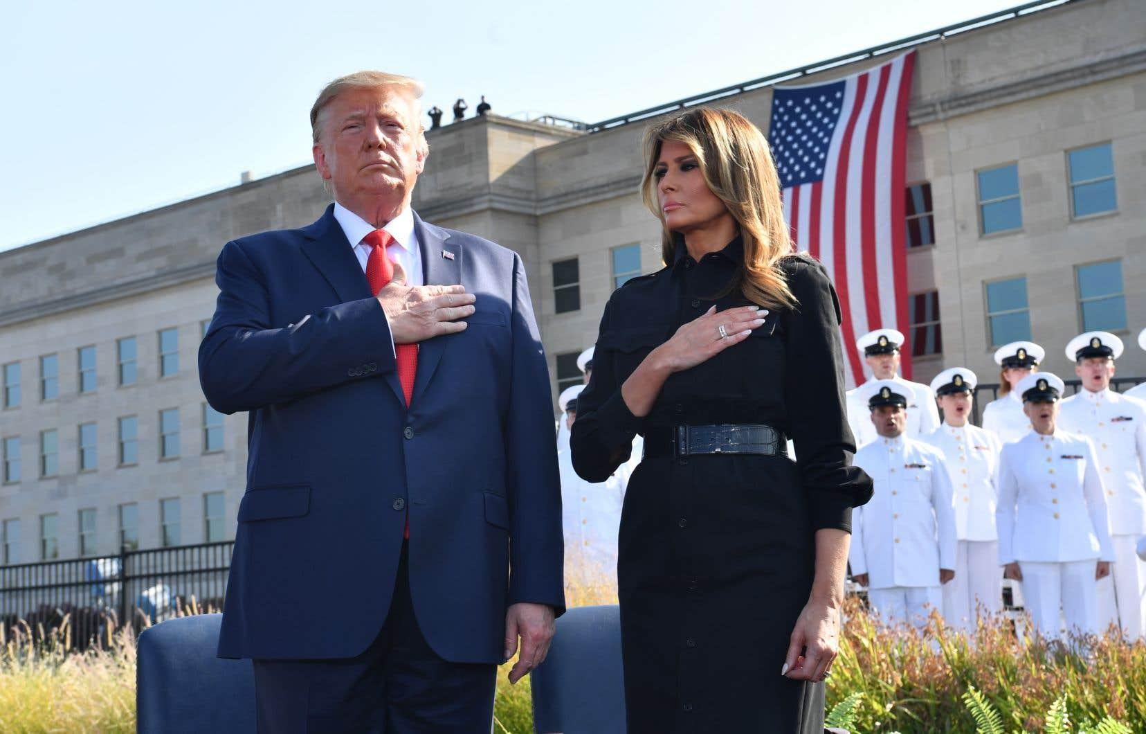 «Au cours des quatre derniers jours, nous avons frappé notre ennemi plus fortement que nous ne l'avions jamais fait, et cela va continuer», a lancé M.Trump lors d'une cérémonie au Pentagone.