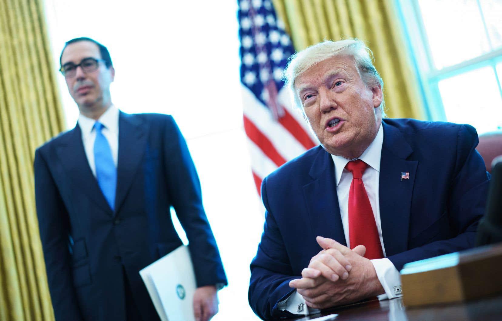 DonaldTrump aurait ouvertement évoqué récemment, lors d'une réunion à la Maison-Blanche, l'hypothèse d'un assouplissement des sanctions en échange d'un face-à-face avec Hassan Rohani.