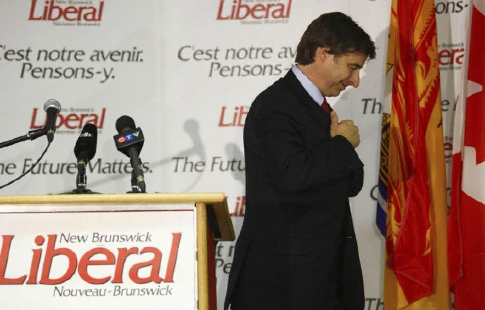 En élisant les progressistes-conservateurs avec une majorité écrasante, les Néo-Brunswickois ont assené un cuisant revers un premier ministre sortant, Shawn Graham.<br />