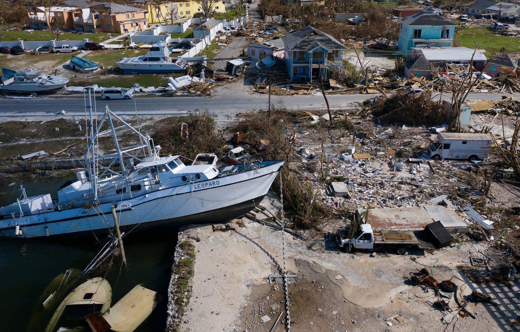 L'île d'Abaco, l'un des coins des Bahamas particulièrement touchés par le chômage et la précarité, a été violemment happé par l'ouragan «Dorian».