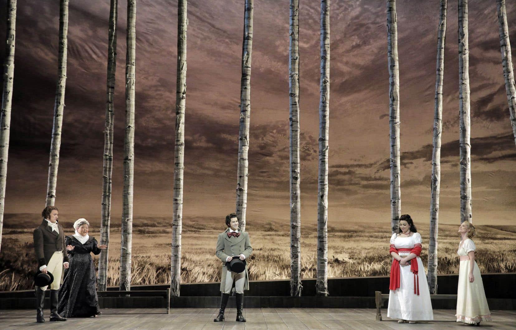 Nicole Car et Étienne Dupuis prennent l'Opéra de Montréal avec «Eugène Onéguine».