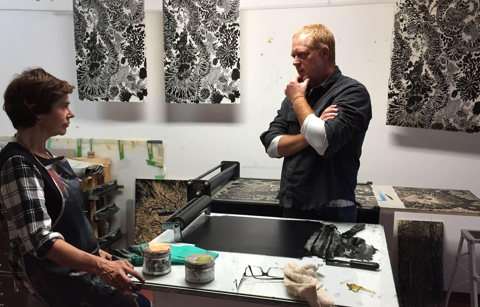 Marc Séguin croise art et chasse pour mieux parler de rituel et d'inspiration.