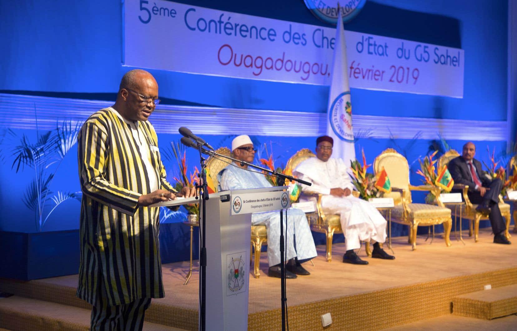 Le président burkinabé Roch Marc Christian Kaboré a souligné que «les menaces transcendent les frontières». «Aucun pays n'est à l'abri», a-t-il rappelé.