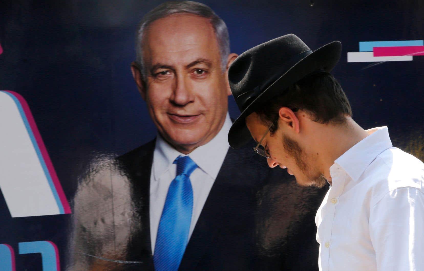 BenjaminNétanyahou avait promis la semaine dernière d'annexer l'ensemble des colonies juives dans la vallée du Jourdain.