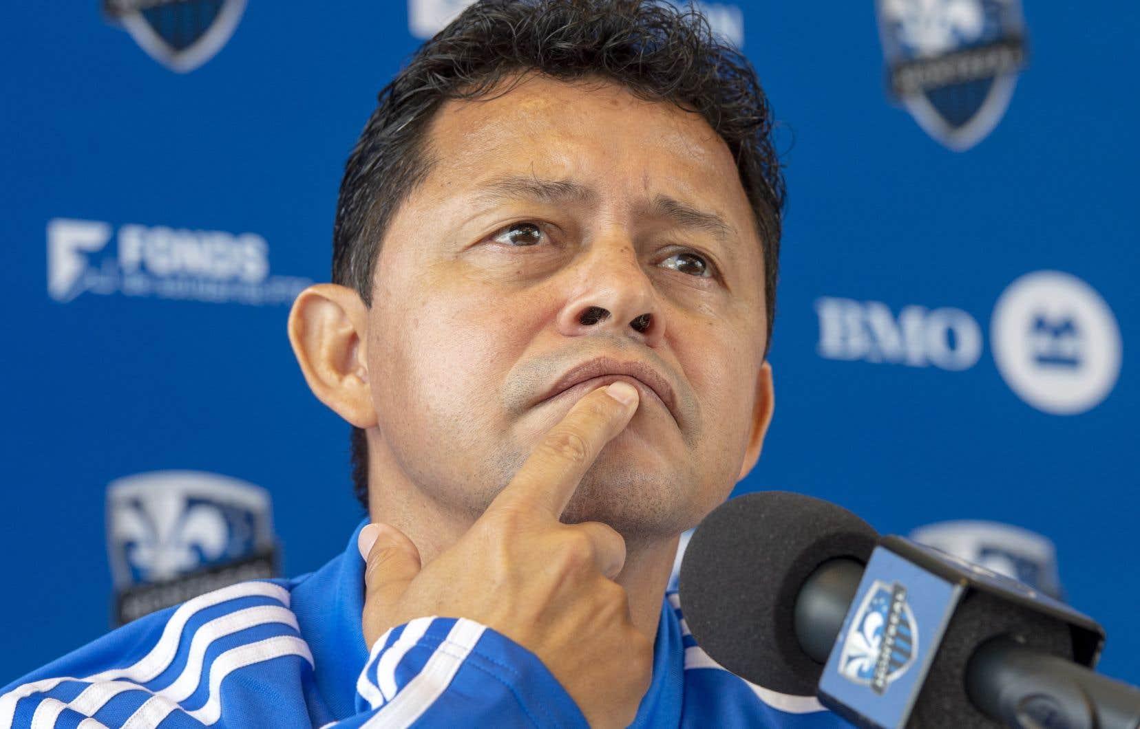 L'entraîneur-chef Wilmer Cabrera s'est dit peu étonné de la visite du propriétaire de l'équipe, Joey Saputo.