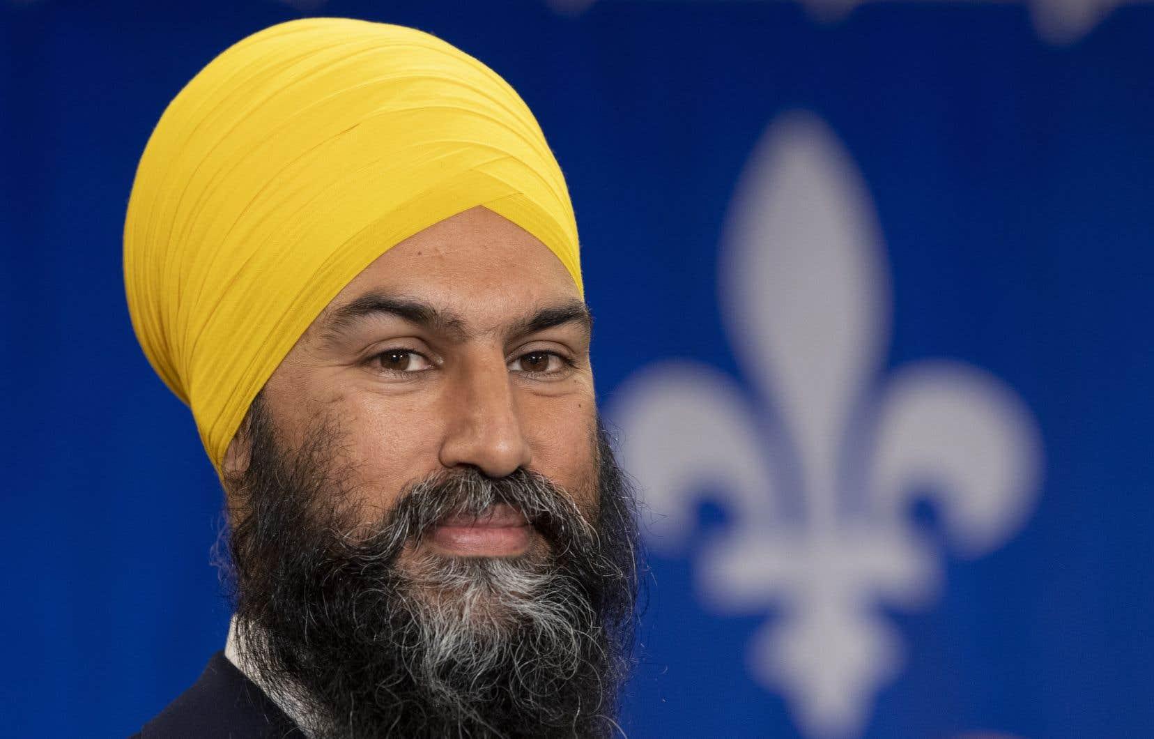 Deux jours après avoir servi au Québec toute une série de promesses spécifiques à la province, le chef du NPD dit non à deux projets du gouvernement Legault.