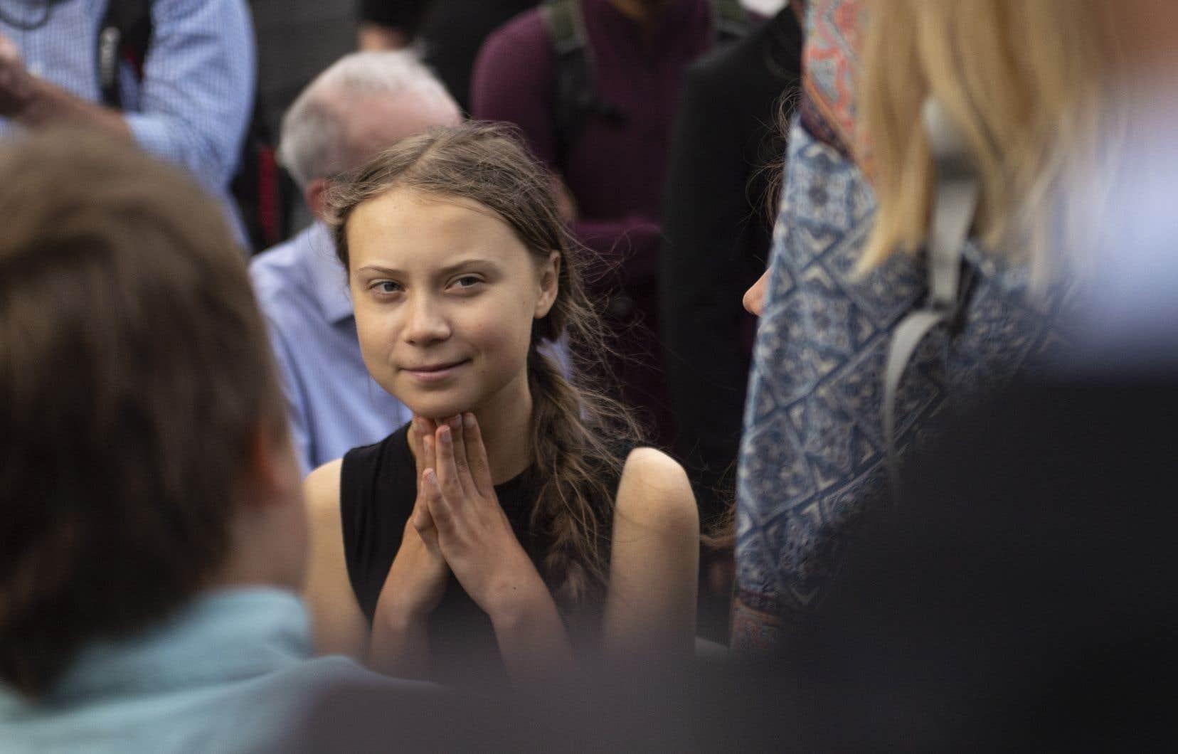 La jeune militante suédoise Greta Thunbergparticipera à la grande marche qui se tiendra à Montréal le vendredi 27septembre, journée mondiale de mobilisation pour le climat.