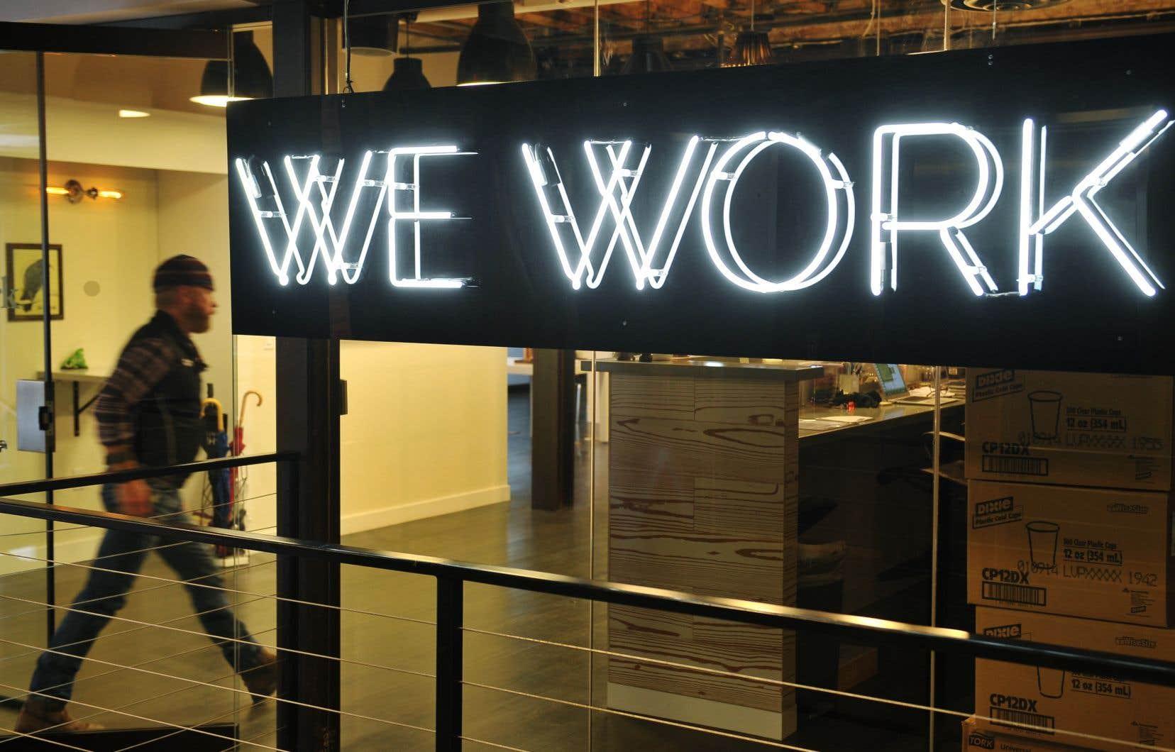 WeWork devait démarrer la veille la tournée de promotion de l'entreprise auprès de potentiels investisseurs pour un baptême du feu la semaine du 23septembre sur le Nasdaq.